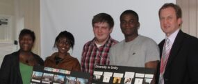 My students have produced a training DVD for Newham Homes