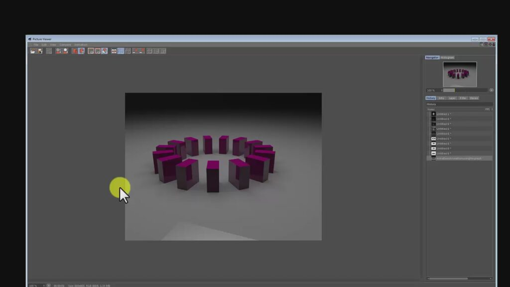 Cinema 4d simple animation with the cloner tool, Cinema 4d simple animation with the cloner tool, Anna Gabali