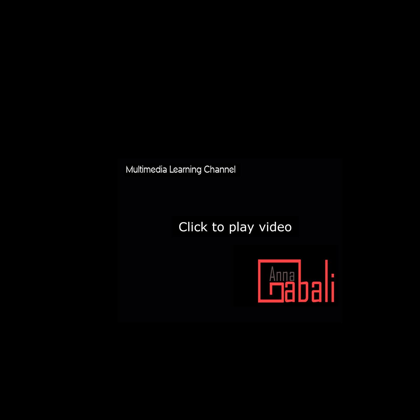 Multimedia Learning channel